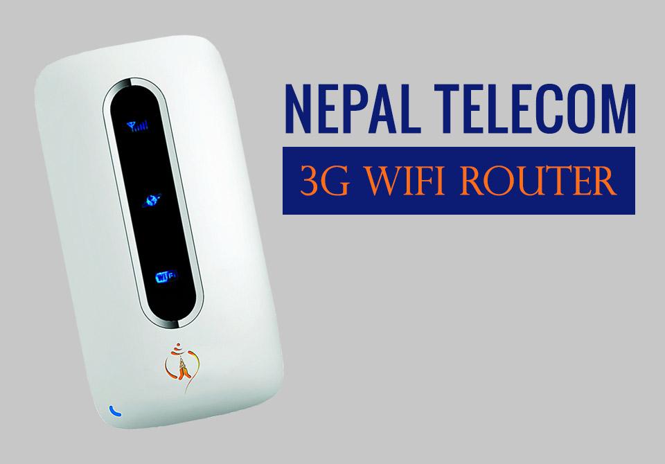 Nepal Telecom 3G wifi Router