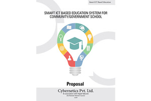 Smart ICT Based Education System for community schools