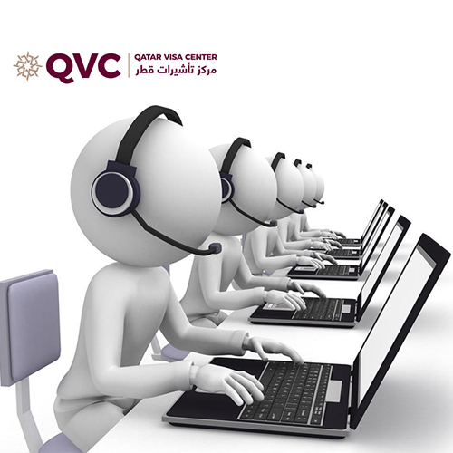 Call Center Solution for Qatar Visa Center (QVC)